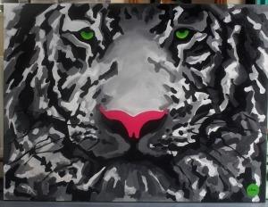 Monika Mrowiec, Zielonooki biały lew