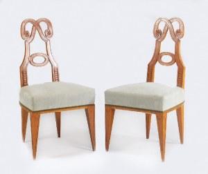Tadeusz GRONOWSKI (1894-1990) - projekt, Para krzeseł klasycyzujących
