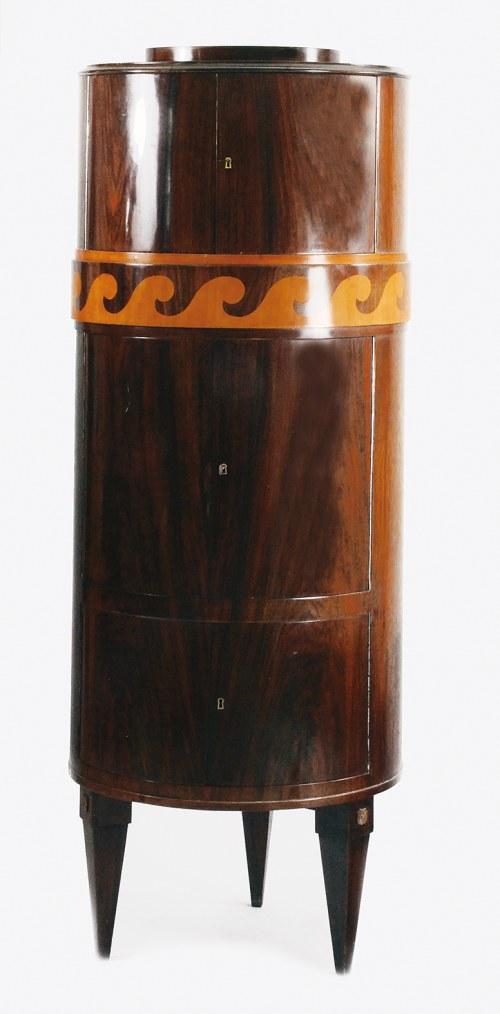 Tadeusz GRONOWSKI (1894-1990) - projekt, Szafka pomocnicza - barek w stylu klasycystycznym