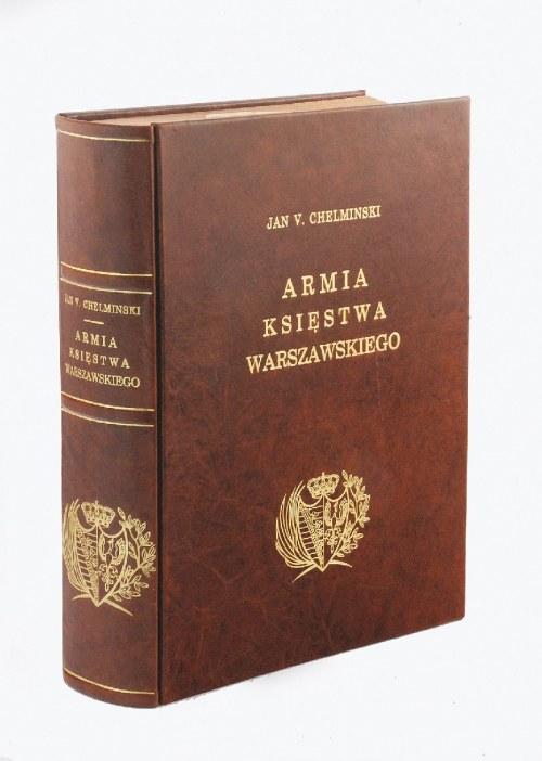 Jan CHEŁMIŃSKI (1851-1925), Alphonse-Marie MALIBRAN, Armia Księstwa Warszawskiego [L'Armee du Duche de Varsovie], Paryż 1913.