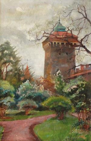 Stanisław PACIOREK (1889-1952), Zimne światło - Baszta Floriańska