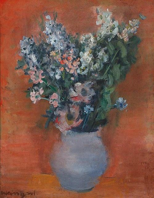 Joachim WEINGART (1895-1942), Martwa natura z kwiatami