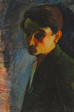 Eugeniusz WANIEK (1906-2009), Autoportret, 1933