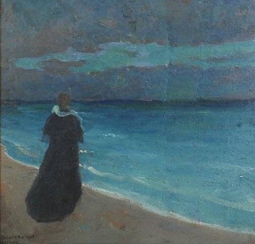 Bronisława RYCHTER-JANOWSKA (1868-1953), W oczekiwaniu, 1906