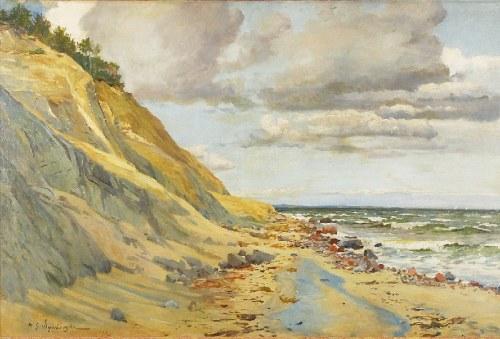 Michał GORSTKIN WYWIÓRSKI (1861-1926), Jastrzębia Góra, 1903