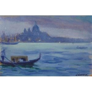 Leon KOWALSKI (1870-1937), Wenecja we mgle