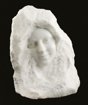 Alexandre Auguste CARON ? (1857-1932), Twarz kobiety