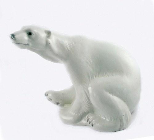 Niels NIELSEN (1872-1921) - model, Niedźwiedź polarny