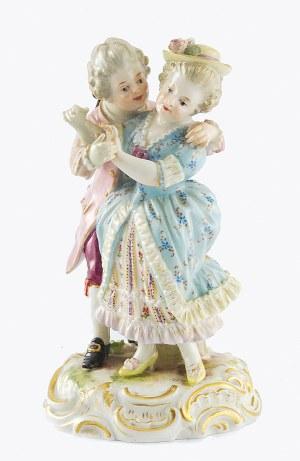 Manufaktura Porcelany w Miśni, Chłopiec i dziewczyna - Zaloty