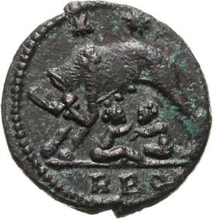 Urbs Roma -> pod Konstantyna I, follis 330-331, Rzym
