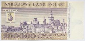 PRL, 200000 złotych 1989 r., seria F4963673