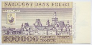PRL, 200000 złotych 1989 r., seria R0200323