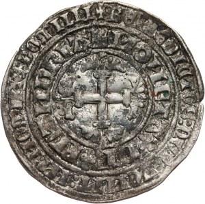 Niderlandy, Hrabstwo Flandrii, Ludwik de Male (1346-1384), podwójny grosz, b.d.