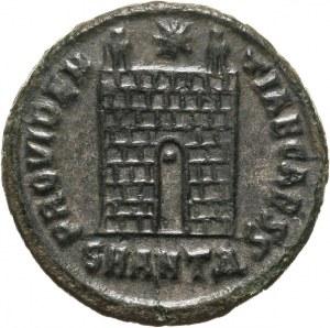 Konstantyn II 337-340 - jako cezar 317-337, follis 325-326, Antiochia