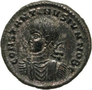 Konstantyn II 337-340 - jako cezar 317-337, follis 320, Tessaloniki