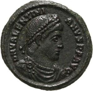 Walentynian I 364-375, follis 364, Sirmium