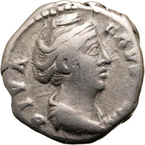 Faustyna I 138-141 (żona Antonina Piusa), denar, po 141, Rzym