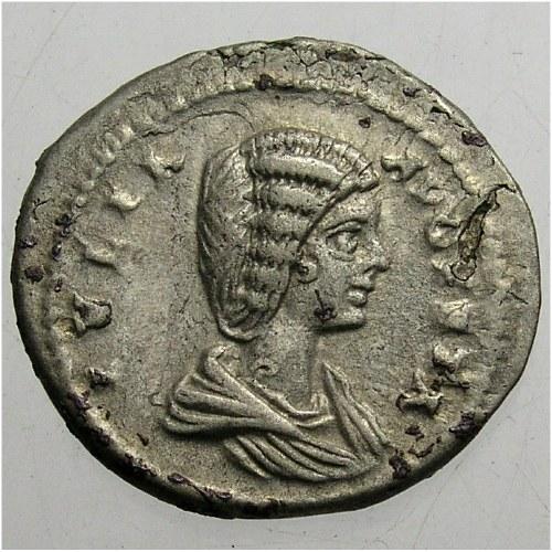 Julia Domna (żona Septymiusza Sewera) 193-211, denar, 196-211, Rzym