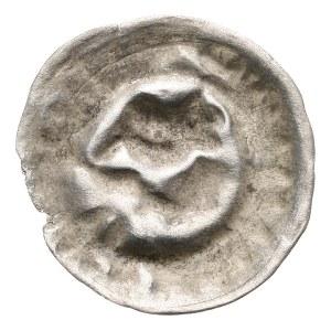 Niemcy, Brandenburgia - Fryderyk II 1440-1470, brakteat (Helmhohlpfennig)