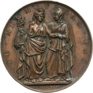 Polska, medal emigracyjny 1831