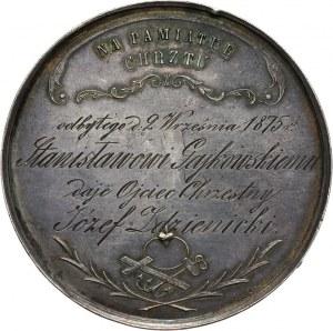 Medal - Pamiątka chrztu 1875