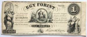 Węgry, 1 forint b.d. (1852)