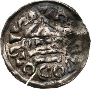 Niemcy, Bawaria - Salzburg, Henryk II 1002-1024, denar 1002-1009