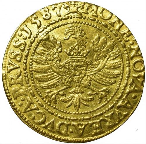 Preussen, Georg Friedrich, Ducat 1587 Koenigsberg fake