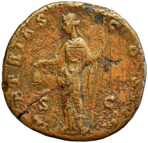 Roman Empire, Antoninus Pius, Sestertius Libertas