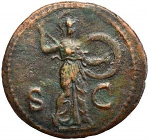 Roman Empire, Claudius, As - Minerva