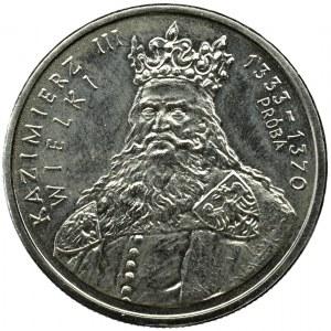 PRL, PRÓBA nikiel 100 złotych 1987 Mieszko I
