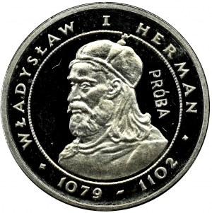 PRL, PRÓBA nikiel 2000 złotych 1981 Władysław I Herman