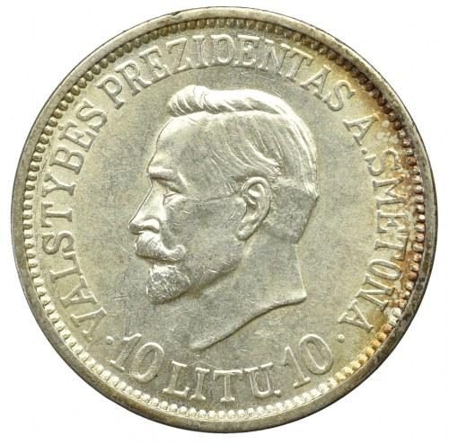Lithuania, 10 litu 1938