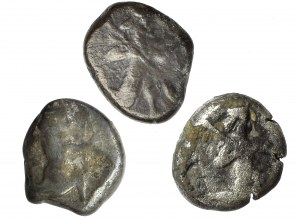 Persja Starożytna, Lydia Achamenidzi, Zestaw 3 sztuk