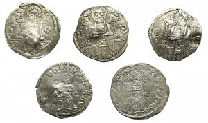 Serbia, zestaw 5 sztuk Dinarów Serbskich