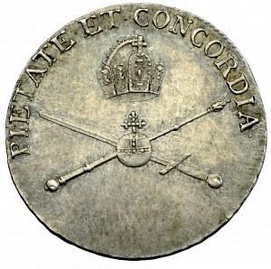 Austria, Franciszek II, żeton koronacyjny 1790