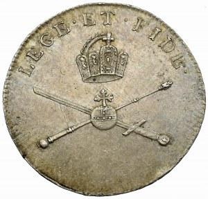 Austria, Leopold II, Żeton koronacyjny 1792