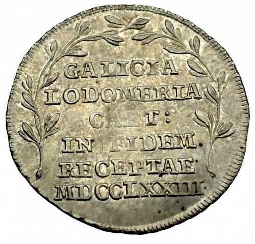 Galicja i Lodomeria, Żeton Przyłączenie do Cesarstwa Austriackiego 1773