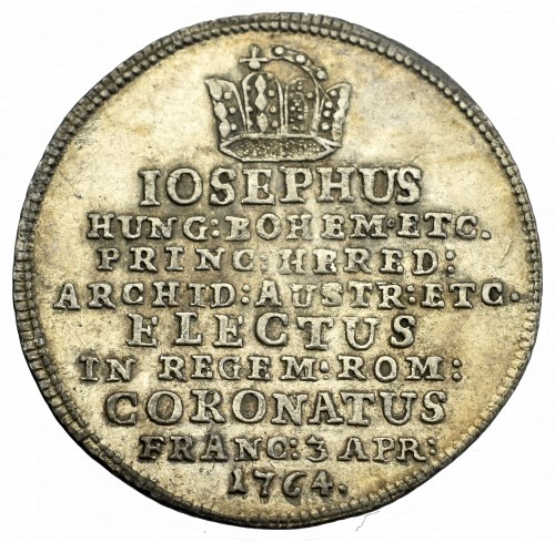 Austria, Joseph II, Coronation jeton 1764