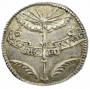 Austria, Ferdynand IV, Żeton koronacyjny 1653