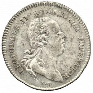 Austria, Leopold II, Żeton koronacyjny 1790