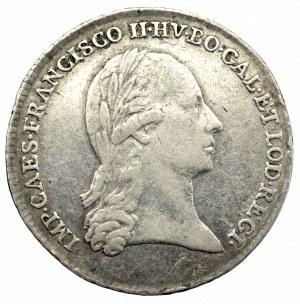Galicja, Franciszek II, żeton 1796 Kraków