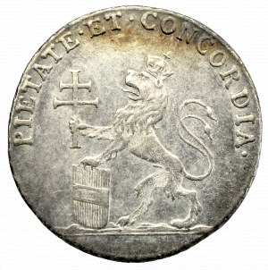 Austria, żeton koronacji Leopolda II na króla Czech, 1791