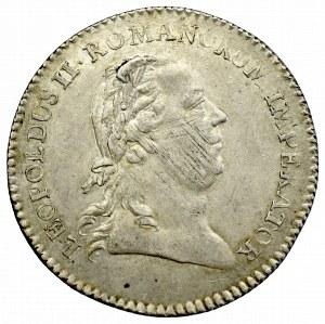 Austria, Leopold II, Żeton koronacyjny Frankfurt 1790