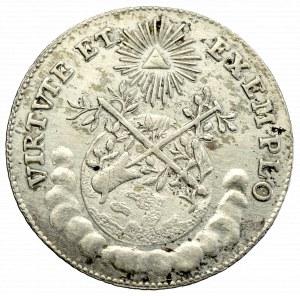 Austria, Józef II, Żeton koronacyjny 1764