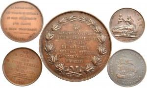 Lot 5 medals