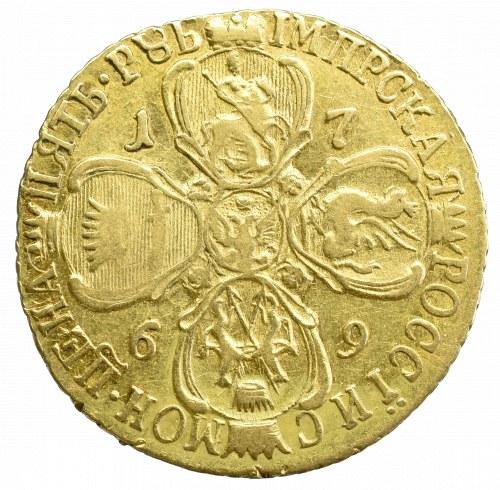 Russia, Elisabeth II, 5 rouble 1769 СПБ