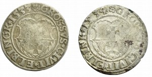 Zygmunt I Stary, grosz Elbląg 1533 i 1534