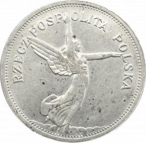 II Rzeczpospolita, 5 złotych 1928, Nike, bez znaku
