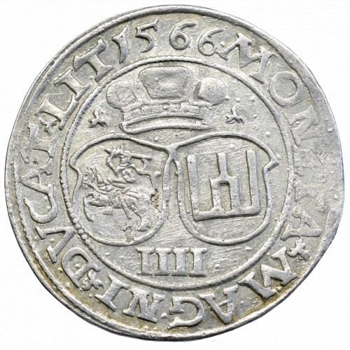 Sigismund II Augustus, 4 groschen 1566 Vilnius